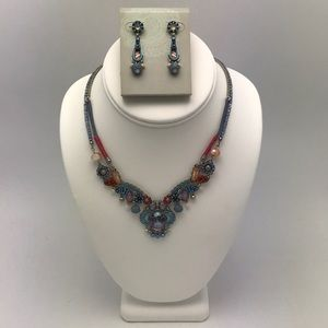 Ayalabar Necklace and Earrings Combo